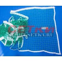 Сетка для большого тенниса, Д 2,2 мм, парашютная стропа 50 мм
