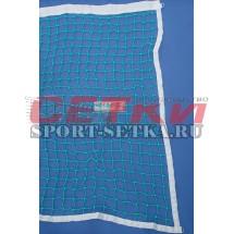 Сетка для большого тенниса, Д 1,8 мм, парашютная стропа 50 мм