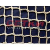 Сетка заградительная, яч. 100*100, Д 4,0 мм, белая безузловая