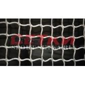 Сетка для хоккейных ворот (1.22м*1.83м*0.5м*1.15м), диаметр 5 мм безузловая