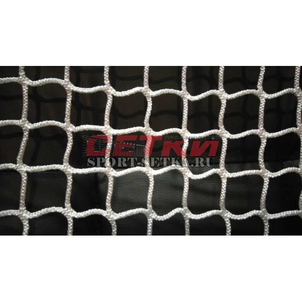 Сетка хоккейная (1.22м*1.83м*0.5м*1.15м), диаметр 5 мм