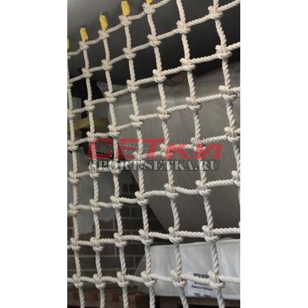 Сетка для лазания Д 10 мм, ячейка 10*10 см