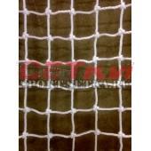 Сетка для большого тенниса, Д 3,5 мм, парашютная стропа 50 мм, цвета - белый, черный, зеленый - УЗЛОВАЯ