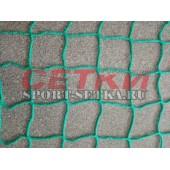Сетка заградительная, яч. 100*100, Д 5,0 мм, зеленая безузловая