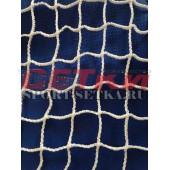 Сетка заградительная, яч. 20*20,  Д 2,2 мм, белая - безузловая