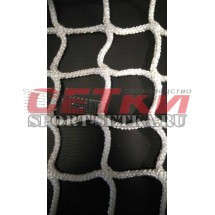 Сетка заградительная, яч. 40*40,  Д 5,0 мм, белая - безузловая